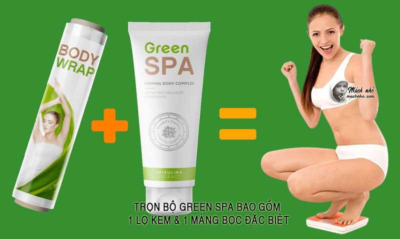 Bộ sản phẩm Green Spa giảm cân