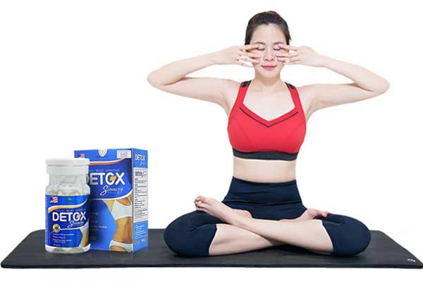 detox slimming capsule viên uống giảm cân hiệu quả