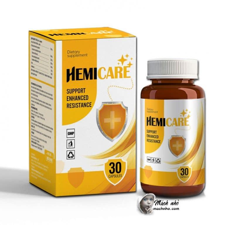 Hemicare tăng cường sức đề kháng bồi bổ sức khỏe