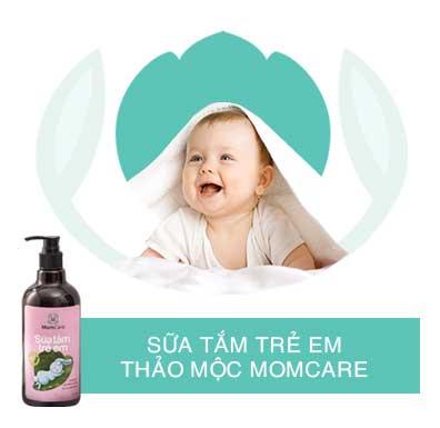 Sữa tắm thảo mộc momcare dành cho con