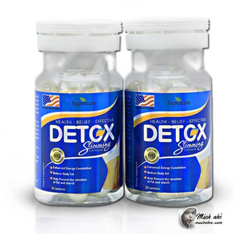 Thuốc Detox Slimming Capsule